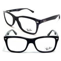 Armação De Óculos De Grau Na Promoção Rayban Rb 5228 Acetato