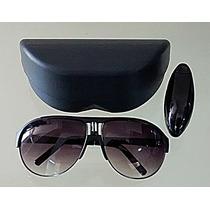 Oculos De Sol Estilo Aviador Mascara Protecao Uv 400