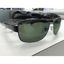 Oculos Ray Ban Polarizado Rb3522 004/9a 64 Made In Italy