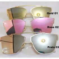 Óculos Dior 0204s Rosa Dourado Ou Prata Lançamento 2016