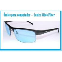 Óculos Para Computador Com Filtro Lentes Video Filter