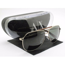 Óculos De Sol Armani Exchange Ax182/s 100% Original Preto