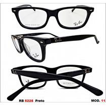 Armação P/ Óculos De Grau Ray Ban Acetato 5228 Frete Gratis
