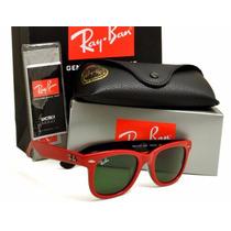 Ray Ban Wayfarer Rb 2140 Colorido Original Varias Cores