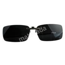 Lentes Polarizadas Clip P/ Óculos Grau Pesca Dirigir Reflexo