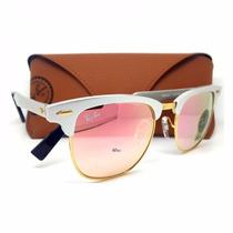 Oculos De Sol Ray Ban Clubmaster Aluminium Rb3507 Rayban