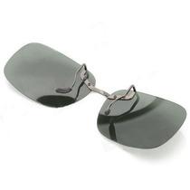 Clip On De Sobrepor Sobre Óculos De Grau - Verde Escuro
