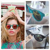 Óculos Vans Feminino Original Verde Agua