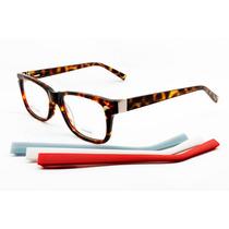 Armação Óculos Troca Hastes P/ Colocar Grau Feminino - 6753