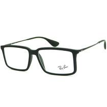 Armação Óculos De Grau Ray Ban Rb 7043 5364 Retrô Masculina