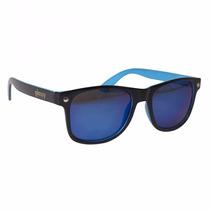 Óculos Glassy Black Blue + Frete Grátis + 12 Vezes Sem Juros