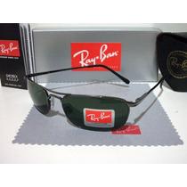 Oculos De Sol Rayban 3132 Grafite Lente Verde G15