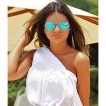 Óculos Espelhado Cor Verão Leve 2 Pague 1 Com Frete Grátis