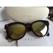 Óculos De Sol Celine Cl41061f/s ,tartaruga Marrom.