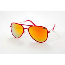 Óculos De Sol Aviador Da Moda Proteção Uv400 Promoção
