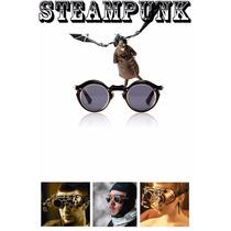 Óculos Retro Steampunk Sunglasses