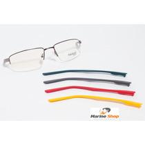 Óculos Troca Hastes Esportivo Em Metal * Armação Para Grau