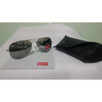 Óculos Ray Ban - 3026 (prata Com Lente Espelhada)