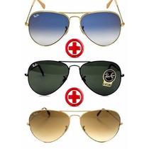 Óculos De Sol Compre 1 Leve 3 Original