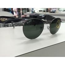 Oculos Solar Ray Ban Redondo Rb 3447 Round Metal 029 50
