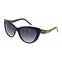 Oculos Just Cavalli Estilo Gatinho Jc631s 01b Novo Original