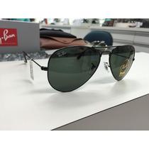 Oculos Ray Ban Rb 3025l Aviator Large Metal L2823 58 Origina