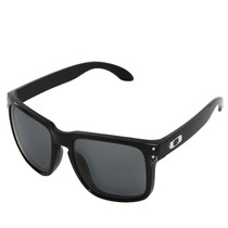 Oculos Oakley Holbrook Polished Black/grey Polarizado