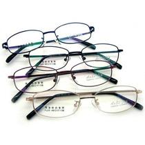 Armação De Óculos Para Colocar Grau - Metal