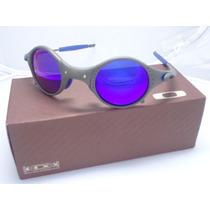 Óculos De Sol Mars Lente E Borrachinha Azul Frete Gratis
