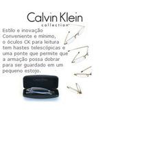 Calvin Klein Eyeglasses Ck Cr1e Com Grau + 2,00
