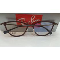 Armação P/óculos De Grau Rb6197 Várias Cores Compre Já O Seu