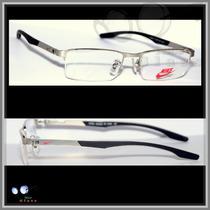 Armação Para Óculos De Grau Modelo Ni8117, Várias Cores