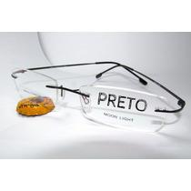 Armação Óculos Grau Memory Titanium(titânio) C/ Dobradiças!!