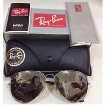 Óculos Ray Ban Aviador 100% Original Espelhado Clássico