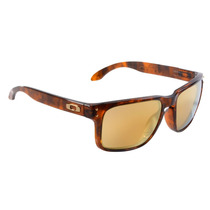 Óculos Masculino Oakley Holbrook Gold Brown