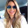 Oculos Rayban Aviador Degrade Espelhado Original