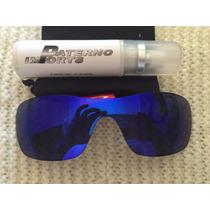 Lente Para Oakley Antix Neon Blue - Menor Preço