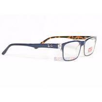 Armação Oculos De Grau Rayban Rb5245 Masculino Feminino