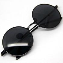 Óculos De Sol Redondo Retrô Lennon Ozzy Vintage Várias Cores
