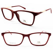 Armação Acetato Para Óculos De Grau Feminina - 7301