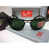 Rb - Demolidor 8012 Preto Com Lentes Verdes Polarizadas