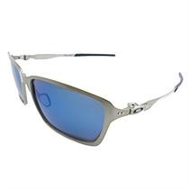 Óculos De Sol Oakley Tincan Iridium Masculino Lentes Azul