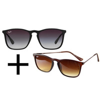 Oculos De Sol Rb 4187 Chris Preto E Marron Pag 1 Lev 2