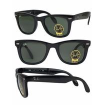 Óculos Ray Ban Wayfarer Dobrável Rb4105 Original Masculino