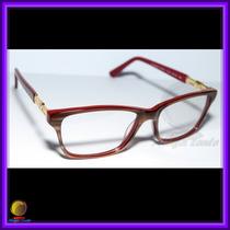 Óculos De Grau Armação Cor De Madeira Chanel 3356