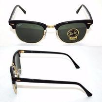 Óculos De Sol Ray Ban Clubmaster Rb3016 Original Completo