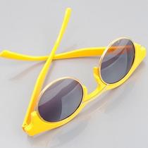 Óculos De Sol Clubmaster Grande Redondo Pin Up Proteção Uv