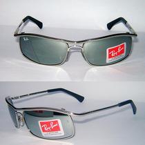 Óculos Demolidor 3339 Prata Cromado Espelhado