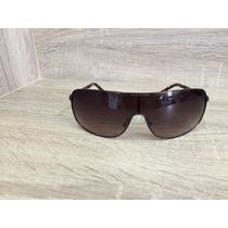 Óculos Sol A/x Armani Exchange Marrom Escuro Semi Novo