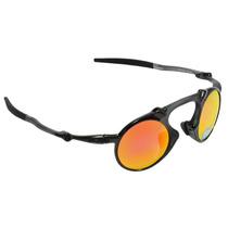 Óculos Masculino Oakley Madman Dark Carbon Ruby Polarized